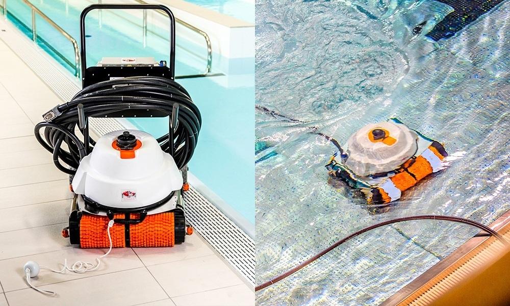 Автоматический робот-пылесос для очистки бассейна
