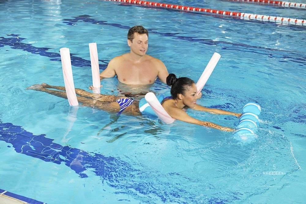 Обучение плаванию взрослых в бассейне