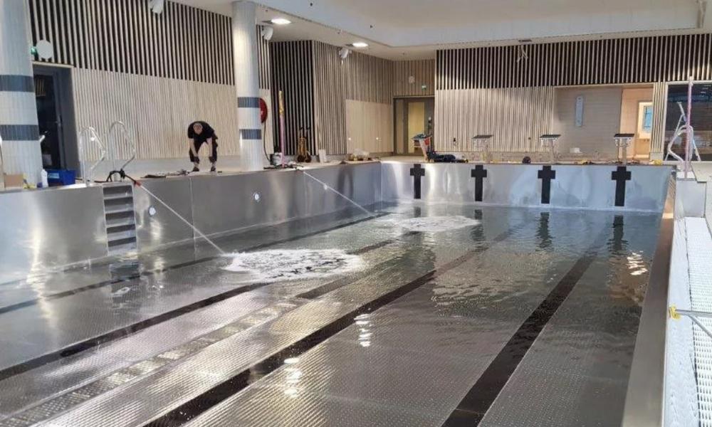 Cтроительство бассейнов из нержавеющей стали