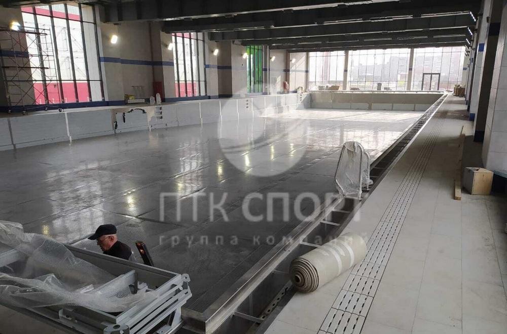 Строительство бассейнов из нержавеющей стали