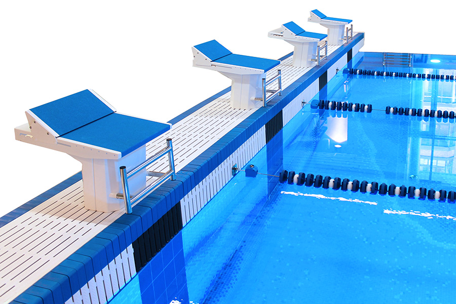 Starting Podium for Swimming Pools